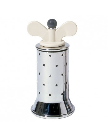 Alessi Michael Graves design pepermolen RVS wit