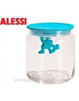 Alessi Gianni voorraadbus blauw 70CL 12cm