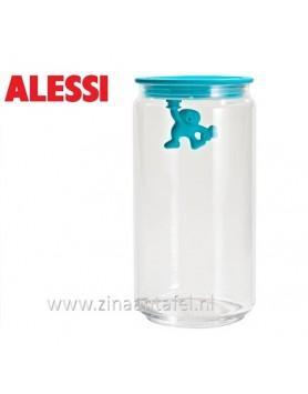 Alessi Gianni voorraadbus blauw 140CL 20.5cm