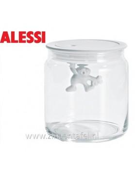 Alessi Gianni voorraadbus wit 70CL 12cm