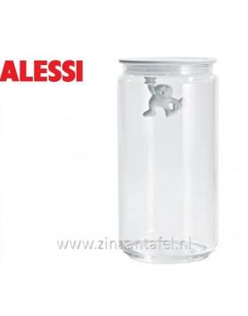 Alessi Gianni voorraadbus wit 140CL 20.5cm