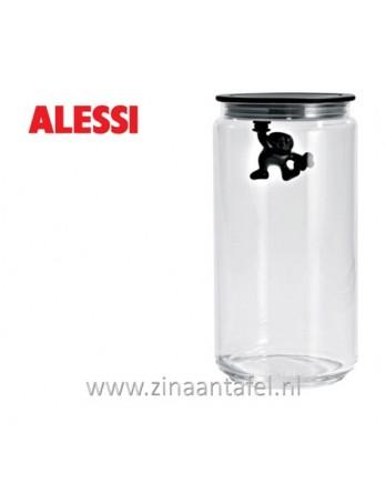 Alessi Gianni voorraadbus zwart 140CL 20.5cm