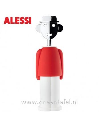 Alessi Alessandro M. kurkentrekker rood / wit