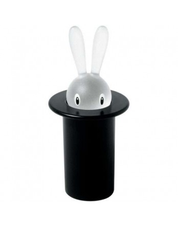 Alessi Magic Bunny - tandenstokerhouder - zwart