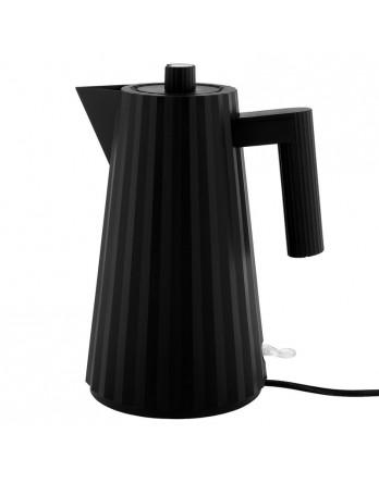 Alessi waterkoker Plissé zwart design 1.7L