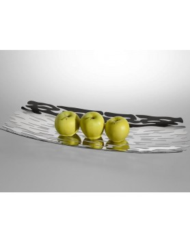 Alessi Bark centerpiece / fruitschaal RVS
