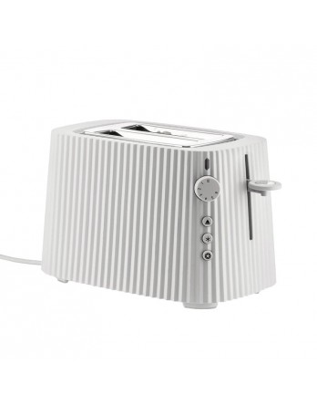 Alessi Plissé toaster / broodrooster wit