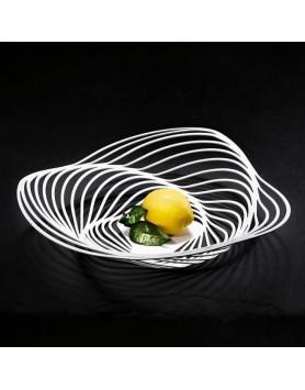 Alessi Trinity schaal - centerpiece basket d.43 wit