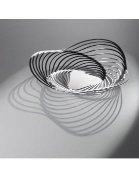Alessi Trinity schaal - centerpiece basket d.26 RVS