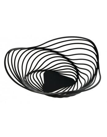 Alessi Trinity schaal - fruitschaal 33cm H8 zwart