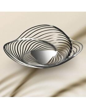 Alessi Trinity schaal - centerpiece basket RVS