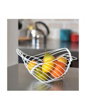 Alessi Trinity schaal - citrus basket d.26 wit