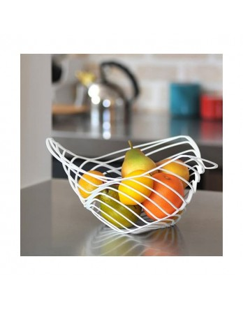 Alessi Trinity schaal - citrus basket d.33 wit