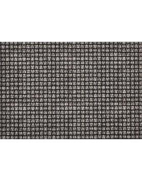 ASA Placemat - knitwear - zwart / wit geblokt