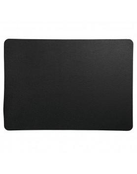 ASA Placemat imitatieleer - 33x46cm - rough black