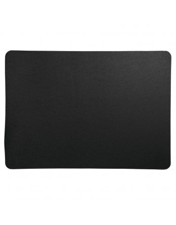 ASA Placemat - imitatieleer - 33x46cm - rough black