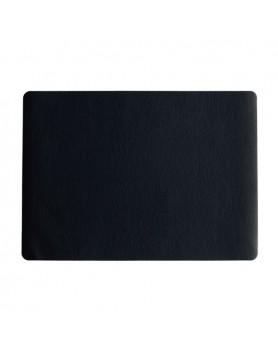 ASA Placemat vegan leer / kunstleer 33x46cm - zwart