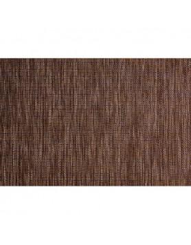 ASA Placemat fijn gevlochten PVC - bruin koper