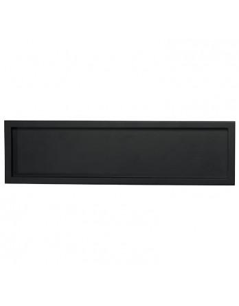 ASA Dienblad hout met rand zwart 9.3 x 32.5