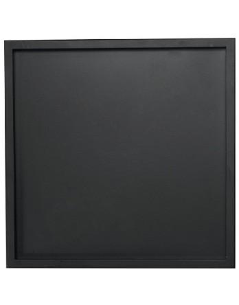 ASA Dienblad hout met rand zwart vierkant 25 x 25