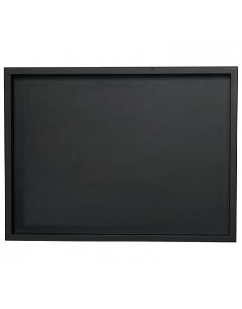 ASA Dienblad hout zwart met rand 35 x 52