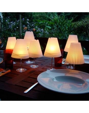 Belle Hélène Frosted designs lampenkamp - 3st