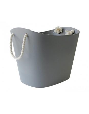 Hachiman Balcolore L mand / opbergmand - soft grijs