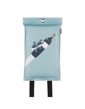 Naaais blusdeken wijn design - ook voor personen