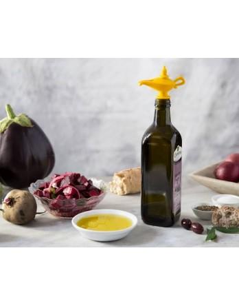 Peleg Design - Oiladdin olijfolie schenker en stop