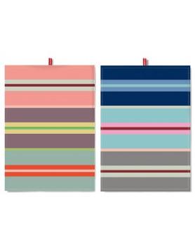 Remember theedoek - set 2 stuks 70 x 50 - stripes TR20