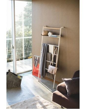 Yamazaki Ladder Wide / handdoekenrek - wit