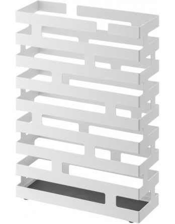 Yamazaki Brick paraplubak - staal - wit
