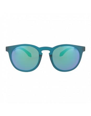 Alsteca zonnebril Wynwood C57 blauw frame en groene spiegel glazen