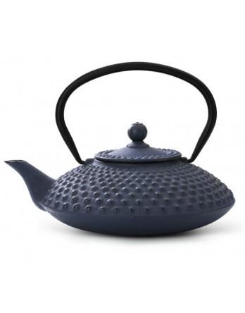 Bredemeijer theepot Xilin gietijzer blauw 1.2