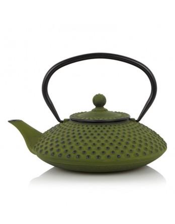 Bredemeijer theepot Xilin gietijzer groen 1.2