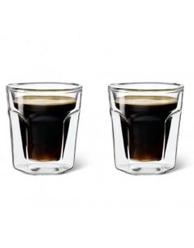 Leopold Vienna dubbelwandig glas espresso 2st