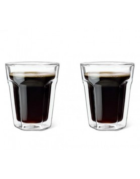 Leopold Vienna dubbelwandig glas koffie 2st