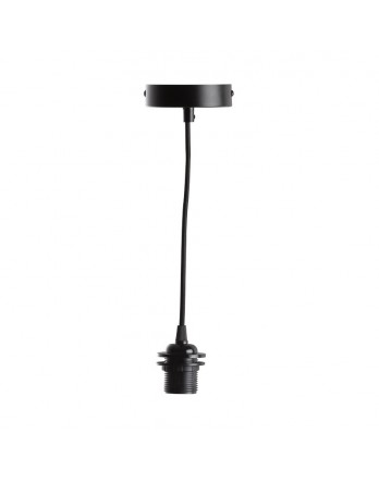Cotton Ball Hanglamp - enkel deluxe zwart