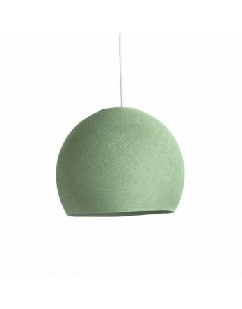 Cotton Ball Lights Lamp driekwart Sage Geen