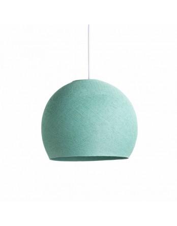 Cotton Ball Lights Lamp driekwart Zeegroen