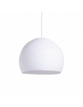 Cotton Ball Lights Lamp driekwart Wit - 3 maten