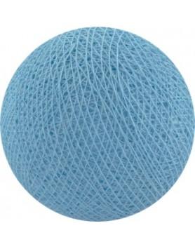 Cotton Ball Lights bol los - baby blue / blauw