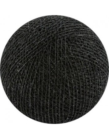 Cotton Ball Lights bol los - zwart