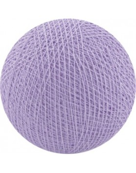 Cotton Ball Lights bol los - lavender / lavendel