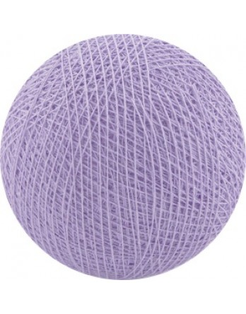 Cotton Ball Lights bol los - lavender / lavendel