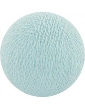 Cotton Ball Lights bol los - light aqua / lichtblauw