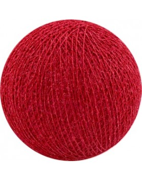 Cotton Ball Lights bol los - red /rood