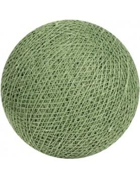 Cotton Ball Lights bol los - sage green / salie groen