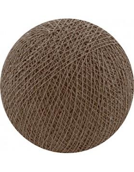 Cotton Ball Lights bol los - soft brown / bruin