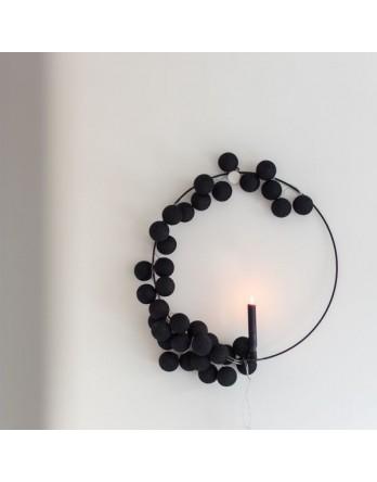 Cotton Ball Lights Lichtslinger Zwart - 3 maten